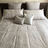 New Barbara Barry Duvet Cover and Pillow Bed 7-Piece Set With Inserts Glendale, 91201