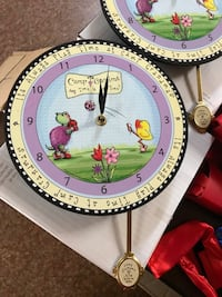 Camp Grandma clock with pendulum/discount for purchase of multiple Oklahoma City, 73107