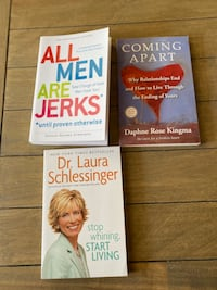 3 new books of relationship