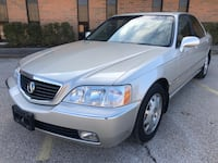 2004 Acura RL 3.5L leather leather seats sunroof navigation clean title no rust timing belt done  Elgin, 60120