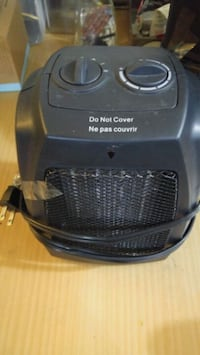 black and gray portable air cooler 3155 km