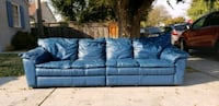 Italian Leather Couch . Like new San Mateo, 94402