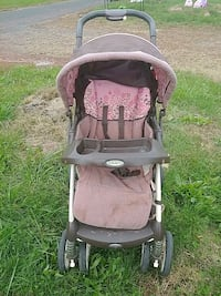 baby's gray and pink Graco stroller Piscataway Township, 08854