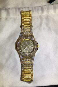 Iced out watch Edmonton, T5H 3X2