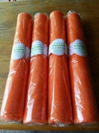 40 Yards Mesh Ribbon Decorative Orange Mesh Ribbon Houston, 77084