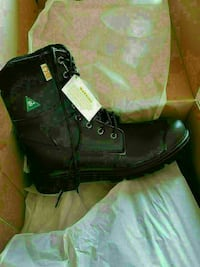 Brand new in a box Men's steel toe boots