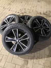 16 inch mags winter tires Laval, H7V 4B4