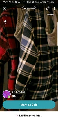 black, white, and red plaid coat Culver City, 90232