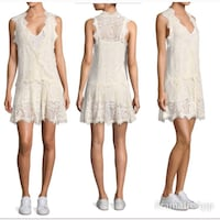 Free People Heart in Two Lace Medium Dress Dresher, 19025