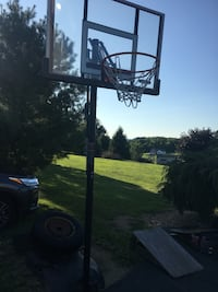 50 inch portable basketball net