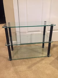 Glass shelf - very sturdy and strong
