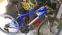 blue and white hard tail mountain bike Dumfries, 22025