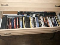 Over 100 dvds and blu rays / xbox 360 games