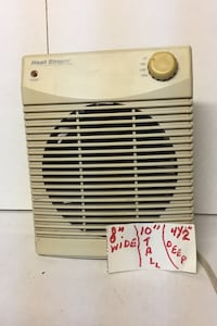 Heat stream heater good condition throws lots of heat