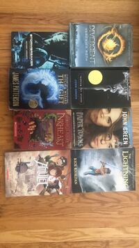 Various novels $30 for all- and many more books- make an offer for all Toronto, M6M