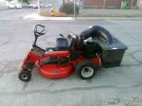 red and black riding mower Evansville, 47711