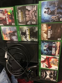 Xbox one with games Parkville, 21234