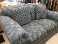 gray and white fabric sofa chair MODESTO