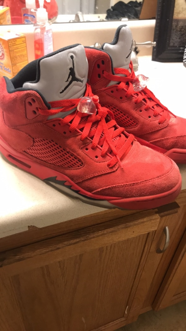 new concept 1d31d d5a4e Size 12 Air Jordan 5 Fire Red