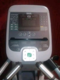 white and gray treadmill control panel 30 km