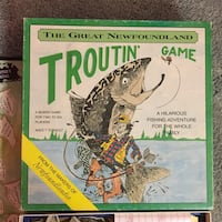 1987 The Great Newfoundland Troutin' Game Board Game Fort McMurray, T9J 1C3