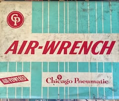 Chicago pneumatic air-wrench box
