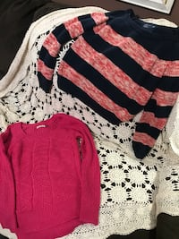 2 Nice Sweaters - American Eagle & SO size Medium - both for $6