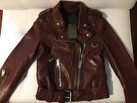 ALL SAINTS Gidley leather jacket  Markham, L6C 2S7