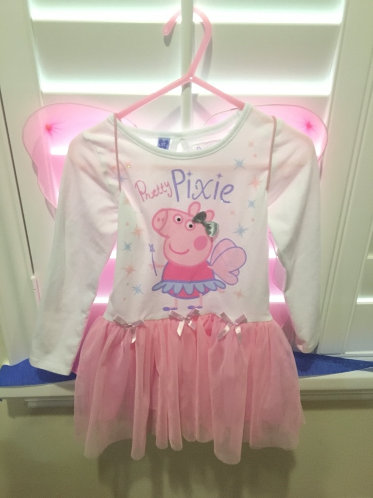 Lovely Pretty Pixie Peppa Pig Costume