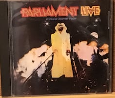 Parliament Funkadelic George Clinton compact disc pfunk doctor funk