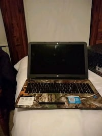 black and gray HP laptop Worcester, 01610