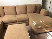 Sectional Sofa 5 pieces with support hooks Roseville, 95747