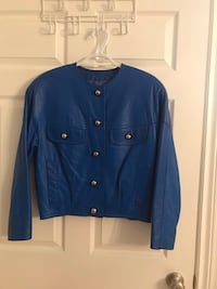 Leather bomber jacket Scugog, L9L 1P4