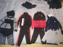 Todler jump suits and jackets