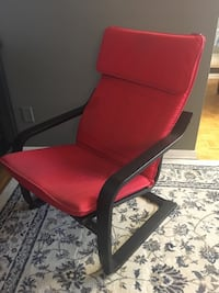 Super Comfortable Relaxing Red Arm Chair