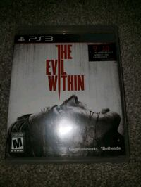 Evil within playstation 3 Gulfport, 39503