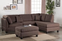 Brand New Chocolate Living Room Set ! Tucson, 85705