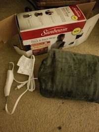 SUNBEAM TENUE HEATED NECK AND BACK WRSP BRAND NEW Laguna Woods