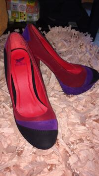 Shoes - Red , Purple & Black - Size 8 - Worn once! Montgomery Village, 20886