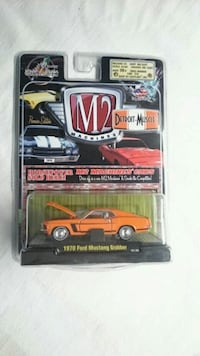 M2 MACHINES 1970 FORD MUSTANG GRABBER PREMIER