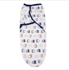Brand new baby swaddle in package size sm/m