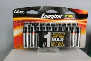 Energizer aa20 20 batteries