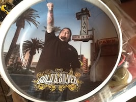 Gold and silver pawn shop collectible