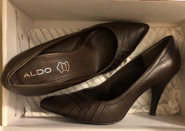 c968d2cc64dc Used Like new Aldo brown heels-size 8 for sale in San Ramon - letgo