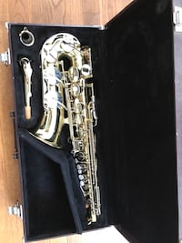 Saxophone in case Annandale, 22003