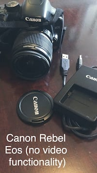 *Huge Markdown*  Like New Canon EOS Rebel XSI & Accessories (telephoto lens) Washington, 20001