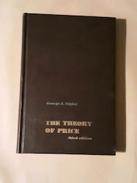 THE THEORY OF PRICE third edition 1966 Des Moines, 50315