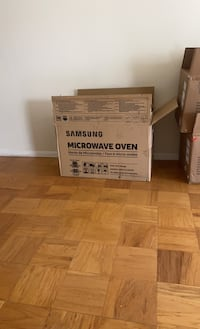 Brand new samsung microwave over the range oven