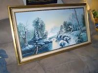 """""""For Sale Russell Oil Painting""""; Langley"""