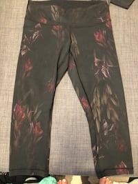 black and red floral pants North Vancouver, V7L
